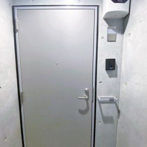 画像:外から玄関