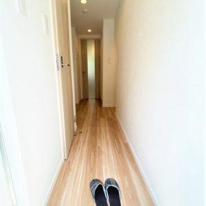 画像:玄関から見た室内