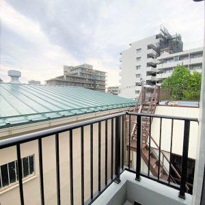 画像:バルコニーからの眺望2