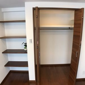 画像:寝室収納
