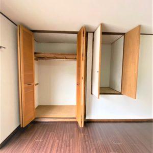 画像:2階洋室10.5帖収納