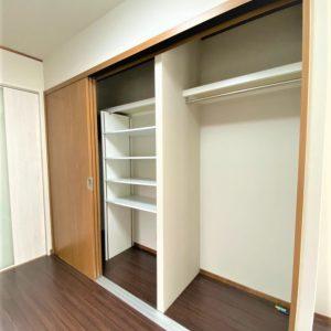 画像:1階洋室4.5帖収納
