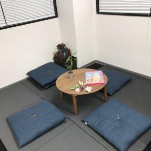 画像:畳のキッズスペース