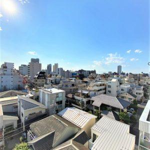 画像:バルコニーからの眺望