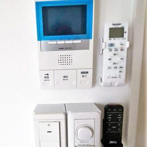 画像:防音室設備スイッチ