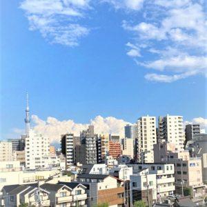 画像:ルーフバルコニーからの眺望