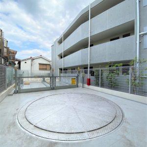 画像:機械式駐車場