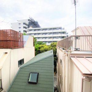 画像:寝室からの眺望