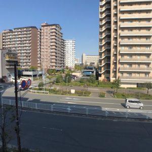 画像:バルコニーから見た眺望