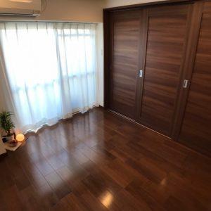 画像:寝室(間仕切りをクローズ)